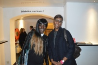 With filmmaker Dionne Walker